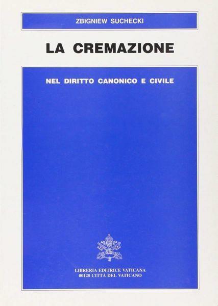 Imagen de La cremazione nel Diritto Canonico e Civile Zbigniew Suchecki