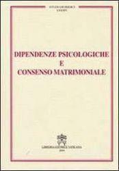 Imagen de Dipendenze psicologiche e consenso matrimoniale