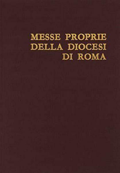 Picture of Messe proprie della diocesi di Roma Libreria Editrice Vaticana