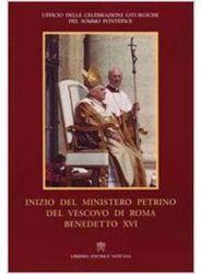 Immagine di Inizio del ministero pietrino del Vescovo di Roma Benedetto XVI Ufficio delle Celebrazioni Liturgiche del Sommo Pontefice