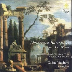 Picture of Piano solo works. Suite alla maniera antica. 4 preludi e fughe CD Domenico Bartolucci