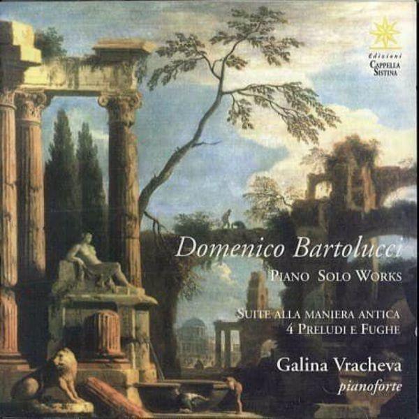 Immagine di Piano solo works. Suite alla maniera antica. 4 preludi e fughe CD Domenico Bartolucci