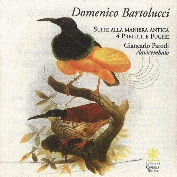 Immagine di Domenico Bartolucci. Suite alla maniera antica. 4 preludi e fughe CD Domenico Bartolucci