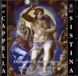Picture of Domenico Bartolucci. Mottetti - Magnificat CD Domenico Bartolucci
