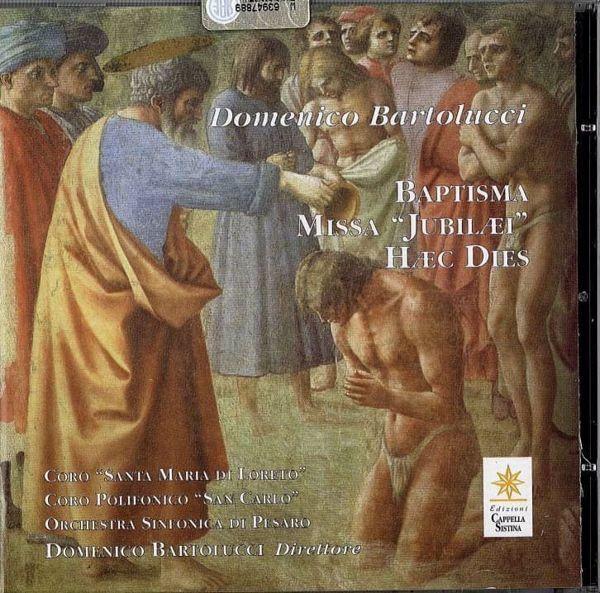 Immagine di Domenico Bartolucci - Baptisma Missa Jubilaei Haec Dies CD Domenico Bartolucci