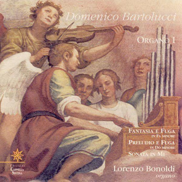 Immagine di Domenico Bartolucci Organo I CD Domenico Bartolucci