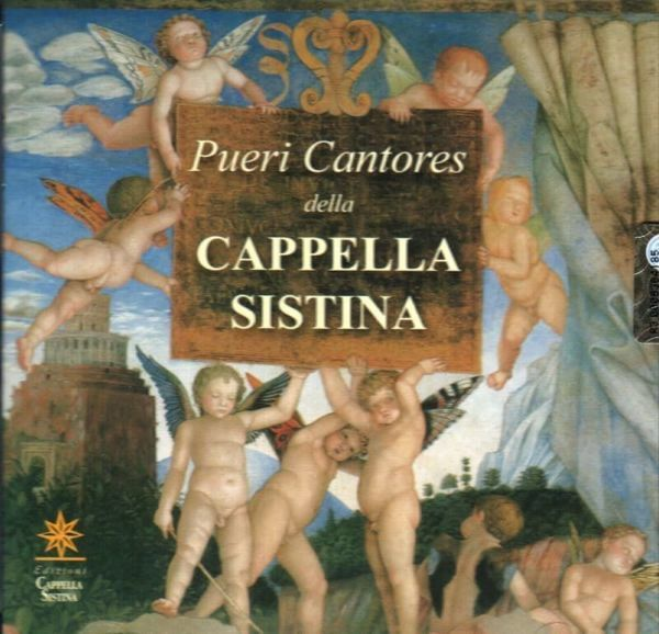 Picture of Domenico Bartolucci Pueri Cantores della Cappella Sistina CD Domenico Bartolucci