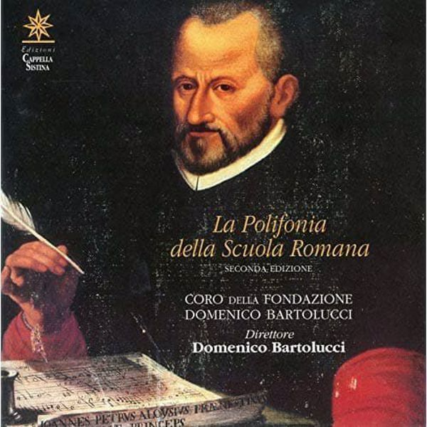 Imagen de Domenico Bartolucci La polifonia della Scuola Romana Seconda edizione. Palestrina - Morales - Bartolucci CD Domenico Bartolucci