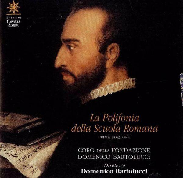 Immagine di Domenico Bartolucci. La Polifonia della Scuola Romana. Palestrina, de Victoria, di Lasso, Bartolucci - CD  Domenico Bartolucci