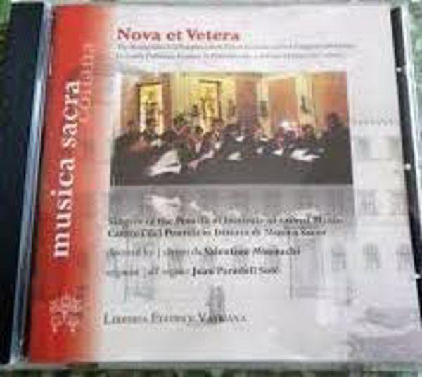 Imagen de Nova et Vetera. Cantori del Pontificio Istituto di Musica Sacra diretti da Valentino Miserachs. Cantori Pontificio Istituto di Musica Sacra