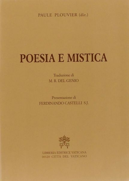 Imagen de Poesia e Mistica Paule Plouvier