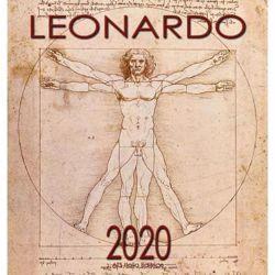 Picture of Leonardo da Vinci 2020 wall Calendar cm 32x34 (12,6x13,4 in)