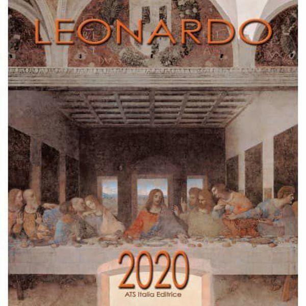 Imagen de Calendario da muro 2020 Leonardo da Vinci (2) cm 32x34