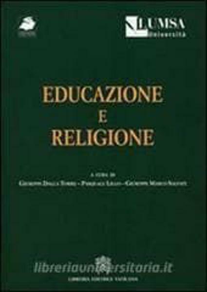 Picture of Educazione e religione Giuseppe Dalla Torre, Pasquale Lillo, Giuseppe Salvati