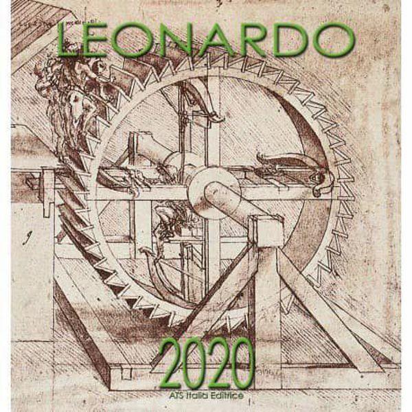 Picture of Calendario da muro 2020 Leonardo  da Vinci - Macchine cm 32x34