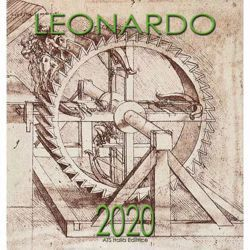 Picture of Máquinas de Leonardo da Vinci Calendario de pared 2020 cm 32x34 (12,6x13,4 in)