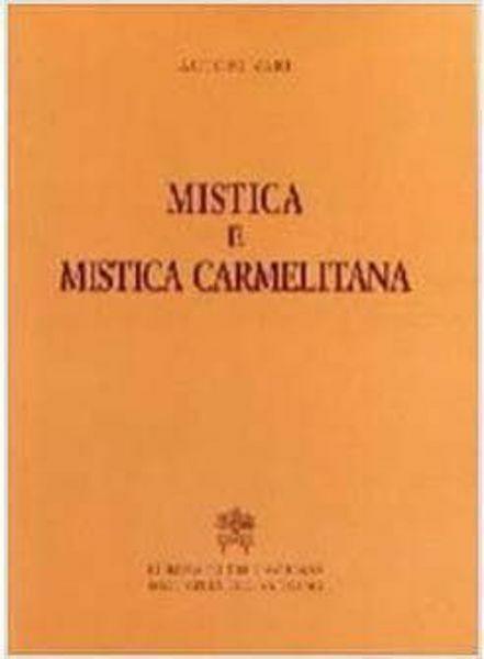 Imagen de Mistica e mistica carmelitana Luigi Borriello