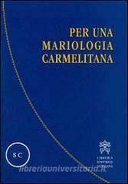 Imagen de Per una mariologia carmelitana