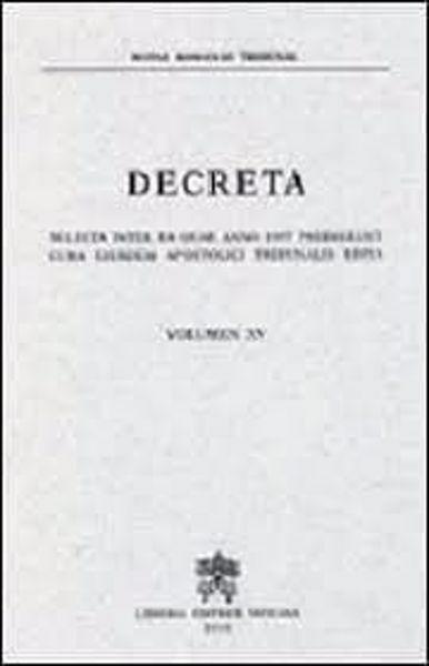Imagen de Decreta selecta inter ea quae anno 1997 prodierunt cura eiusdem Apostolici Tribunalis edita. Volumen XV anno 1997 Rotae Romanae Tribunal