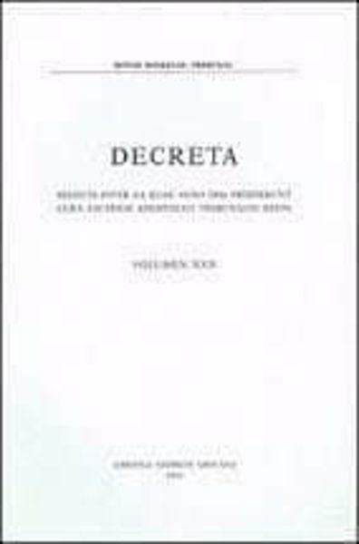 Immagine di Decreta selecta inter ea quae anno 1998 prodierunt cura eiusdem Apostolici Tribunalis edita. Volumen XVI anno 1998 Rotae Romanae Tribunal
