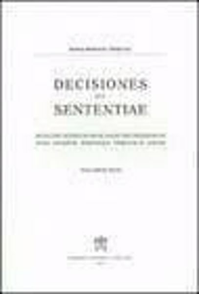 Picture of Decisiones Seu Sententiae Anno 1937 Vol. 29 Rotae Romanae Tribunal