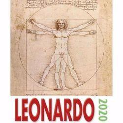 Immagine di Calendario da tavolo e da muro 2020 Leonardo Uomo vitruviano cm 16x17