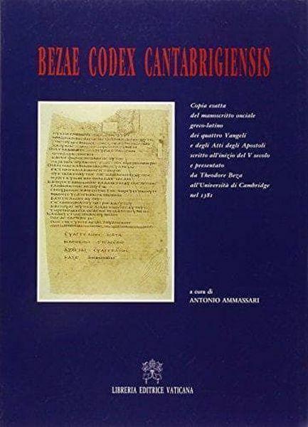 Imagen de Bezae Codex Cantabrigiensis Antonio Ammassari