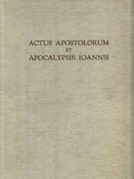 Immagine di Actus Apostolorum et Apocalypsis Ioannis