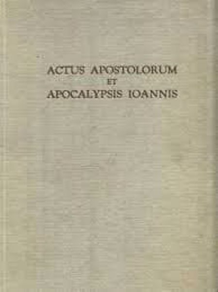 Imagen de Actus Apostolorum et Apocalypsis Ioannis