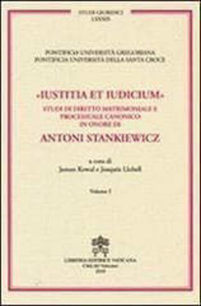 Imagen de Iustitia et Iudicium Volumi 3-4 (due volumi non vendibili singolarmente) Janusz Kowal, Joaquín Llobell