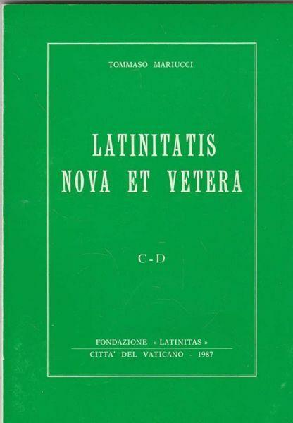 Imagen de Latinitas nova et vetera: P-SC volume 5 Tommaso Mariucci
