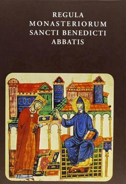 Immagine di Regula Monasteriorum Sancti Benedicti Abbatis. Testo latino, versione italiana a fronte San Benedetto Abbazia Santa Maria di Rosano