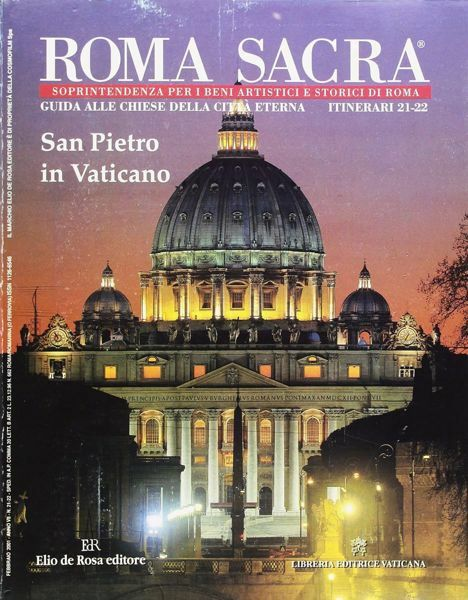 Imagen de San Pietro in Vaticano Guida alle Chiese della Città Eterna Antonio Grimaldi, Alfredo Maria Pergolizzi