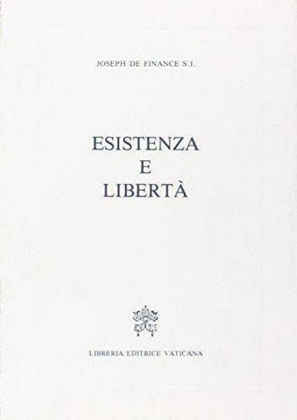 Immagine di Esistenza e libertà Joseph De Finance