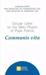 Immagine di Circular Letter on the Motu Proprio of Pope Francis Communis Vita Congregation for Institutes of Consecrated Life and Societies of Apostolic Life