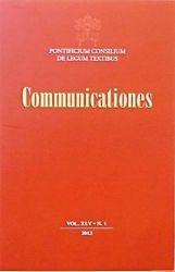 Imagen de Communicationes 2021 - Suscripción anual