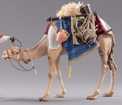 Picture of Camel with saddle cm 12 (4,7 inch) Hannah Orient dressed Nativity Scene in Val Gardena wood