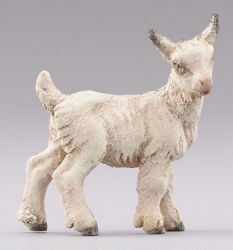 Picture of Little Goat standing cm 14 (5,5 inch) Hannah Alpin dressed Nativity Scene in Val Gardena wood