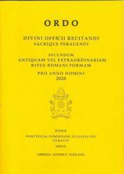 Immagine di Ordo Divini Officii Recitandi Sacrique Peragendi pro Anno Domini 2020 Pontificia Commissione Ecclesia Dei