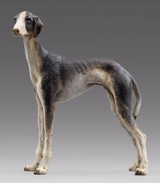 Picture of Greyhound cm 20 (7,9 inch) Hannah Alpin dressed Nativity Scene in Val Gardena wood