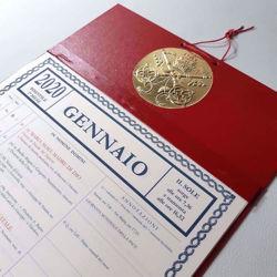 Imagen de Calendario a blocco mensile da muro 2021 pagine a strappo Tipografia Vaticana