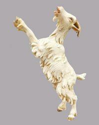 Immagine di Capra che si arrampica cm 20 (7,9 inch) Presepe vestito Hannah Alpin Statua in legno Val Gardena