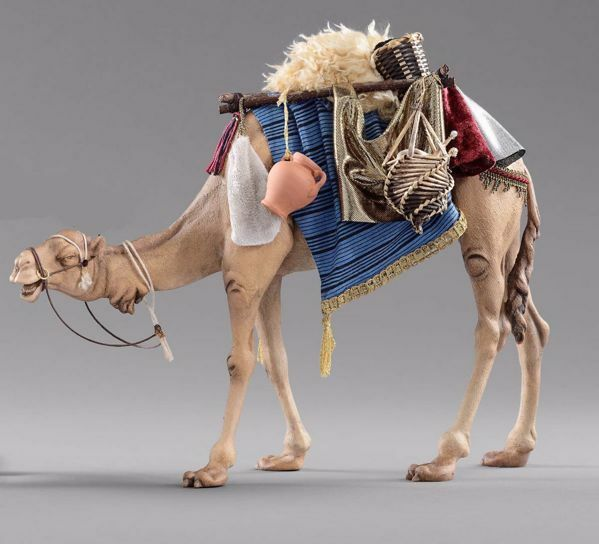 Picture of Camel with saddle cm 30 (11,8 inch) Hannah Alpin dressed Nativity Scene in Val Gardena wood