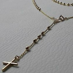 Picture for category Gold Rosary Necklaces