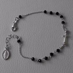 Picture for category Silver Rosary Bracelets