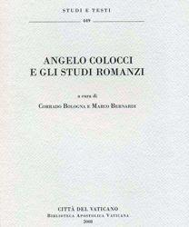 Picture of Angelo Colocci e gli studi romanzi Corrado Bologna, Marco Bernardi