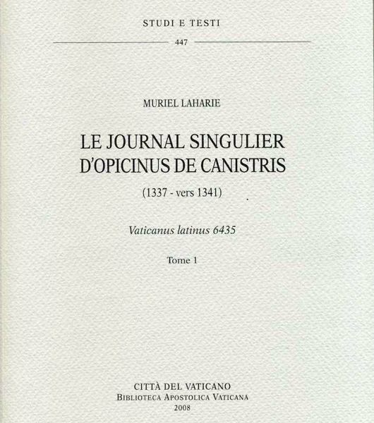 Immagine di Le journal singulier d' Opicinus de Canistris. (1337-vers 1341) - Vaticanus latinus 6435. 2 Volumi Murriel Laharie