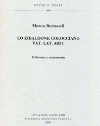 Picture of Lo Zibaldone colocciano - Vat. lat. 4831. Edizione e commento Marco Bernardi