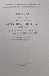 Immagine di Acta Benedicti PP. XII (1334-1342) Pontificia Commissio ad Redigendum Codicem Iuris Canonici Orientalis