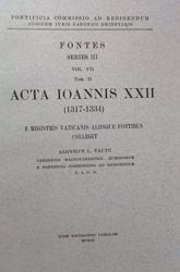 Immagine di Tomus II: Acta Ioannis PP. XXII (1317-1334) Pontificia Commissio ad Redigendum Codicem Iuris Canonici Orientalis